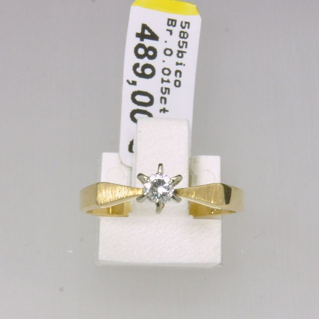 Ring 585bico Br015 w si #121017